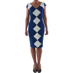 Υφασμάτινα Γυναίκα Κοντά Φορέματα Rinascimento 241.012_BLU Azul