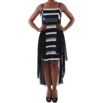 Υφασμάτινα Γυναίκα Κοντά Φορέματα Rinascimento PAINT/R_BLU Negro