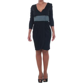 Υφασμάτινα Γυναίκα Κοντά Φορέματα Silvian Heach SIL13565 Negro