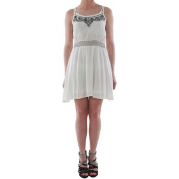 Υφασμάτινα Γυναίκα Κοντά Φορέματα Sz Collection Woman WYQ_1623_WHITE Blanco