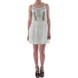 Υφασμάτινα Γυναίκα Κοντά Φορέματα Sz Collection Woman WYQ_1622_WHITE Blanco