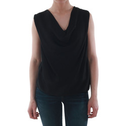 Υφασμάτινα Γυναίκα Αμάνικα / T-shirts χωρίς μανίκια Sz Collection Woman WCS_1234_BLACK Negro