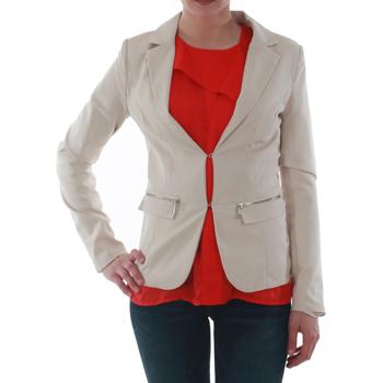 Υφασμάτινα Γυναίκα Σακάκι / Blazers Sz Collection Woman WXZ_1376C_BEIGE Beige