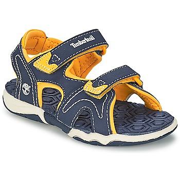 Παπούτσια Παιδί Σπορ σανδάλια Timberland ADVENTURE SEEKER 2-STRAP SANDAL μπλέ / Yellow