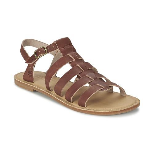 Παπούτσια Γυναίκα Σανδάλια / Πέδιλα Timberland EARTHKEEPERS® SHEAFE FISHERMAN Brown /  CLAIR