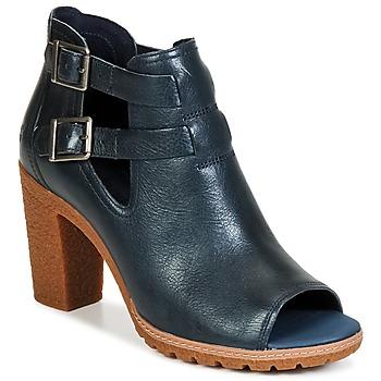 Παπούτσια Γυναίκα Μποτίνια Timberland EARTHKEEPERS® GLANCY PEEP TOE μπλέ / Nuit