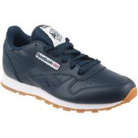 Παπούτσια Παιδί Χαμηλά Sneakers Reebok Sport Classic Leather Bleu marine