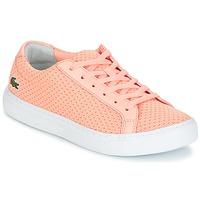 Παπούτσια Γυναίκα Χαμηλά Sneakers Lacoste L.12.12 LIGHTWEIGHT1181 Ροζ