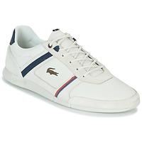Παπούτσια Άνδρας Χαμηλά Sneakers Lacoste MENERVA 118 1 Άσπρο