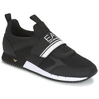Παπούτσια Άνδρας Χαμηλά Sneakers Emporio Armani EA7 BLACK & WHITE U Black