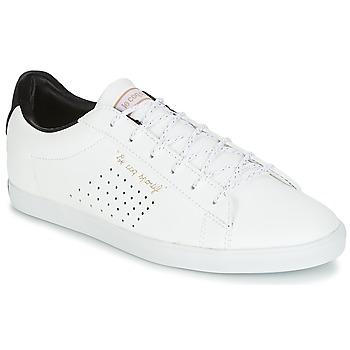 Παπούτσια Γυναίκα Χαμηλά Sneakers Le Coq Sportif AGATE LO S LEA/SATIN Άσπρο