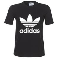 Υφασμάτινα Γυναίκα T-shirt με κοντά μανίκια adidas Originals TREFOIL TEE Black