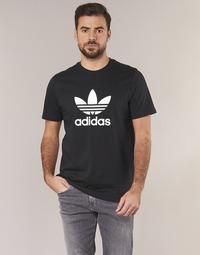 Υφασμάτινα Άνδρας T-shirt με κοντά μανίκια adidas Originals TREFOIL T SHIRT Black