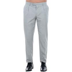 Υφασμάτινα Άνδρας Παντελόνια κοστουμιού Jack & Jones 12120554 JPRISAC TROUSER LIGHT GREY MELANGE Gris claro