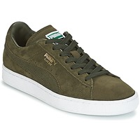 Παπούτσια Χαμηλά Sneakers Puma SUEDE CLASSIC + Kaki / Άσπρο