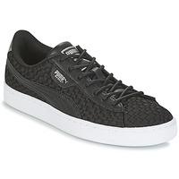 Παπούτσια Γυναίκα Χαμηλά Sneakers Puma BASKET SATIN EP WN'S Black