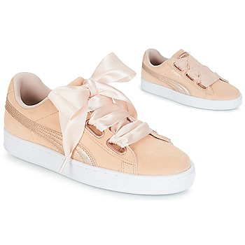 Παπούτσια Γυναίκα Χαμηλά Sneakers Puma SUEDE HEART LUNALUX W'S Ροζ