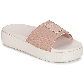 Παπούτσια Γυναίκα Τσόκαρα Puma PLATFORM SLIDE WNS EP Ροζ