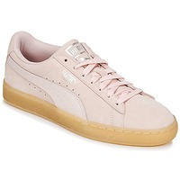 Παπούτσια Γυναίκα Χαμηλά Sneakers Puma SUEDE CLASSIC BUBBLE W'S Ροζ