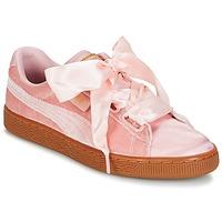 Παπούτσια Γυναίκα Χαμηλά Sneakers Puma BASKET HEART VS W'N Ροζ
