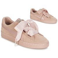 Παπούτσια Γυναίκα Χαμηλά Sneakers Puma W SUEDE HEART EP Ροζ