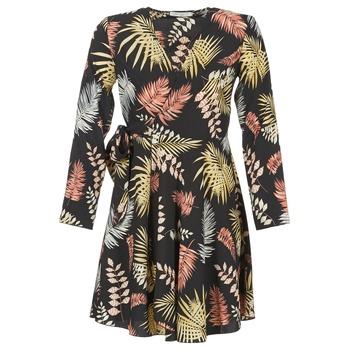 Υφασμάτινα Γυναίκα Κοντά Φορέματα Betty London HYPO Black / Multicolore
