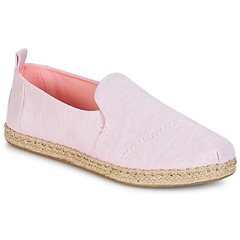 Παπούτσια Γυναίκα Εσπαντρίγια Toms DECONSTRUCTED ALPARGATA ROPE Ροζ