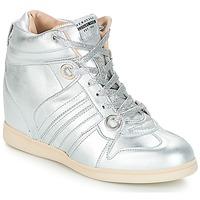 Παπούτσια Γυναίκα Ψηλά Sneakers Serafini MANHATTAN Argenté