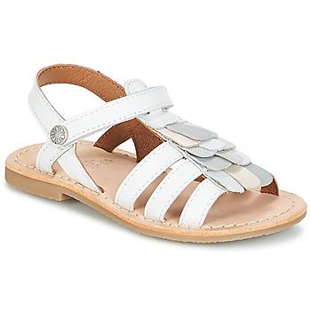 Παπούτσια Κορίτσι Σανδάλια / Πέδιλα Aster CORELLE Άσπρο