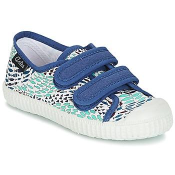 Παπούτσια Αγόρι Χαμηλά Sneakers Aster MICKY Άσπρο / Μπλέ