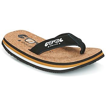 Παπούτσια Άνδρας Σαγιονάρες Cool shoe ORIGINAL Black / Camel