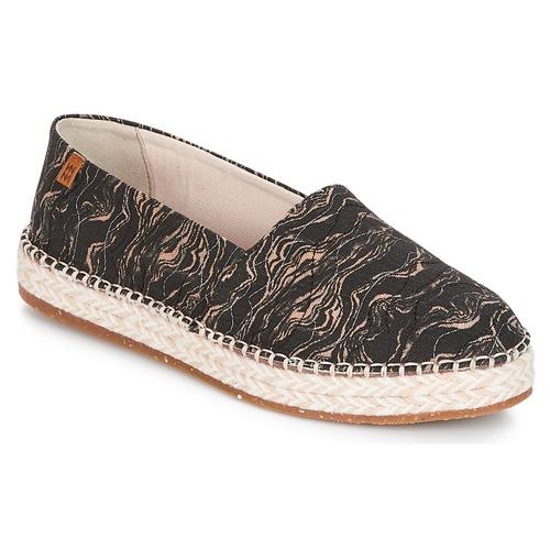 Παπούτσια Γυναίκα Εσπαντρίγια El Naturalista SEAWEED CANVAS Black / Grey