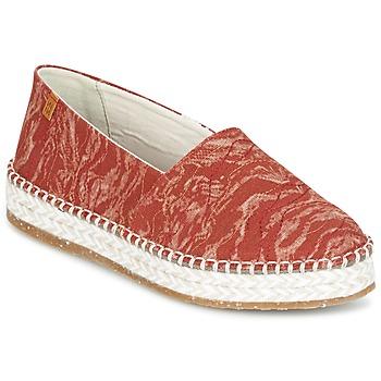 Παπούτσια Γυναίκα Εσπαντρίγια El Naturalista SEAWEED CANVAS Red / Orange