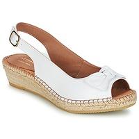 Παπούτσια Γυναίκα Σανδάλια / Πέδιλα Heyraud CLORANE Άσπρο