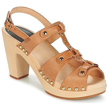 Παπούτσια Γυναίκα Σανδάλια / Πέδιλα Swedish hasbeens BRASSY Camel
