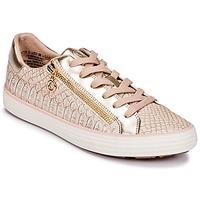 Παπούτσια Γυναίκα Χαμηλά Sneakers S.Oliver BOOMBO Ροζ / Χρυσο