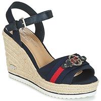 Παπούτσια Γυναίκα Σανδάλια / Πέδιλα Tom Tailor CRYSTYA Marine