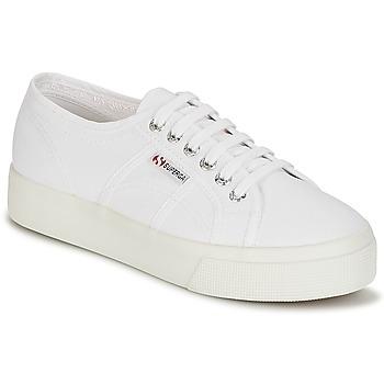 Παπούτσια Γυναίκα Χαμηλά Sneakers Superga 2730 COTU Άσπρο