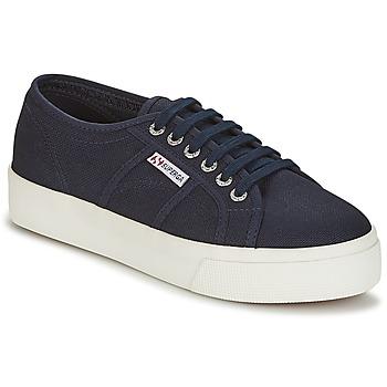 Παπούτσια Γυναίκα Χαμηλά Sneakers Superga 2730 COTU Marine / Άσπρο