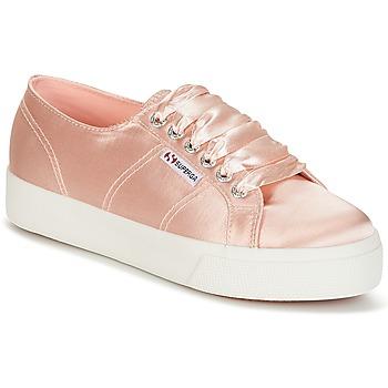 Παπούτσια Γυναίκα Χαμηλά Sneakers Superga 2730 SATIN W Ροζ