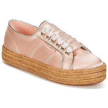 Παπούτσια Γυναίκα Χαμηλά Sneakers Superga 2730 SATIN COTMETROPE W Ροζ