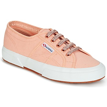 Παπούτσια Γυναίκα Χαμηλά Sneakers Superga 2750 CLASSIC SUPER GIRL EXCLUSIVE Peche