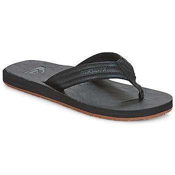 Παπούτσια Άνδρας Σαγιονάρες Quiksilver CARVER NUBUCK M SNDL SBKM Black