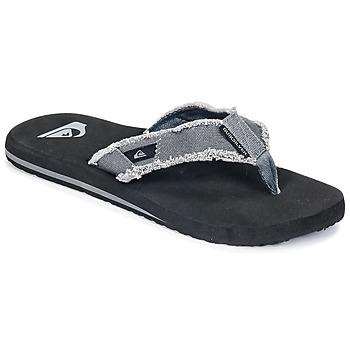 Παπούτσια Άνδρας Σαγιονάρες Quiksilver MONKEY ABYSS M SNDL XSKC Grey