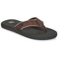 Παπούτσια Άνδρας Σαγιονάρες Quiksilver MONKEY ABYSS M SNDL CTK1 Black / Brown
