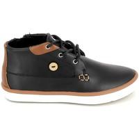Παπούτσια Παιδί Ψηλά Sneakers Faguo Wattle Leather BB Noir Black