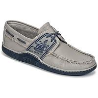 Παπούτσια Άνδρας Boat shoes TBS GLOBEK Grey / Μπλέ