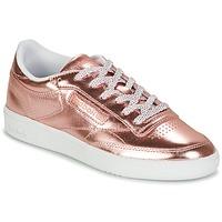 Παπούτσια Γυναίκα Χαμηλά Sneakers Reebok Classic CLUB C 85 S SHINE Ροζ / Μεταλικό