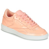 Παπούτσια Γυναίκα Χαμηλά Sneakers Reebok Classic CLUB C 85 PATENT Ροζ