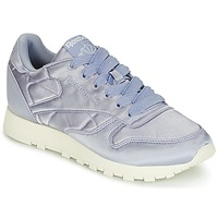 Παπούτσια Γυναίκα Χαμηλά Sneakers Reebok Classic CLASSIC LEATHER SATIN Violet